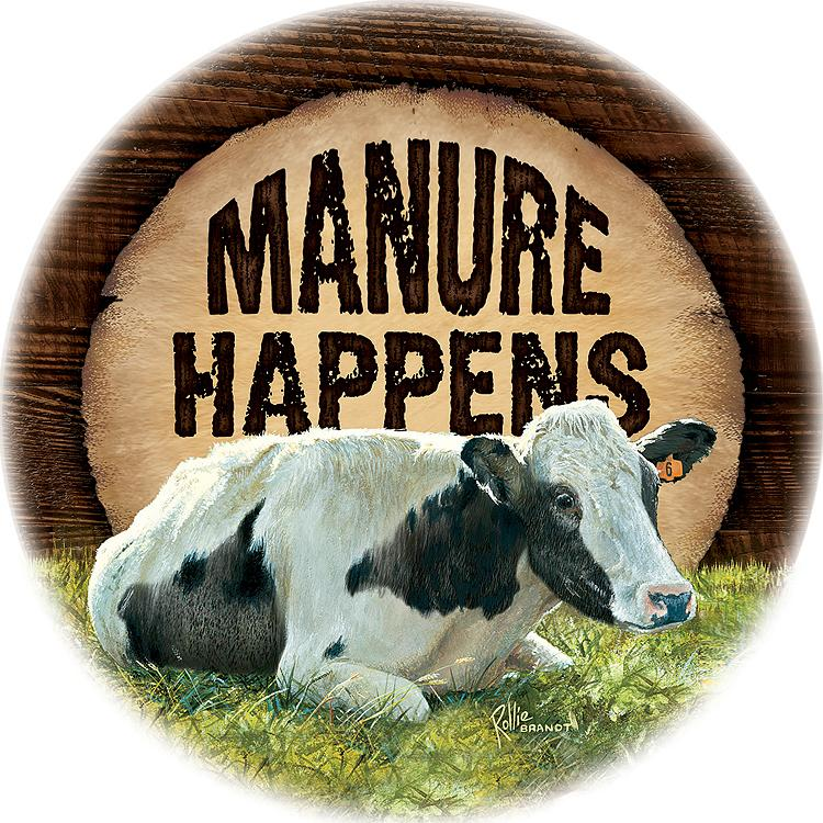 Manure Happens Coasters