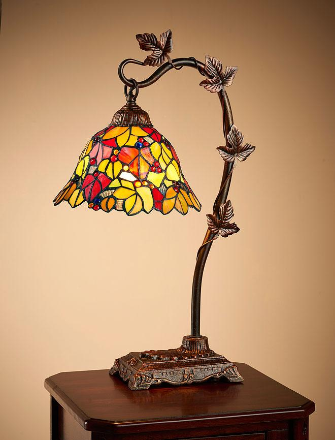 Maple Leaf Table Lamp
