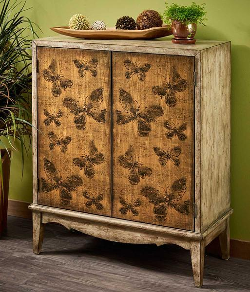 Graceful Butterflies Cabinet
