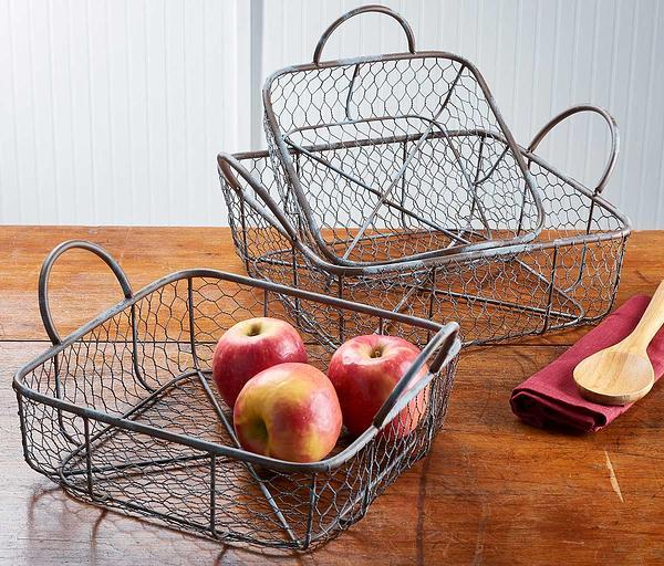Country Cottage Nesting Baskets