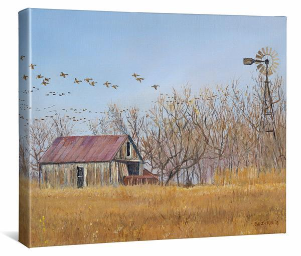 Migration Gallery Wrapped Canvas