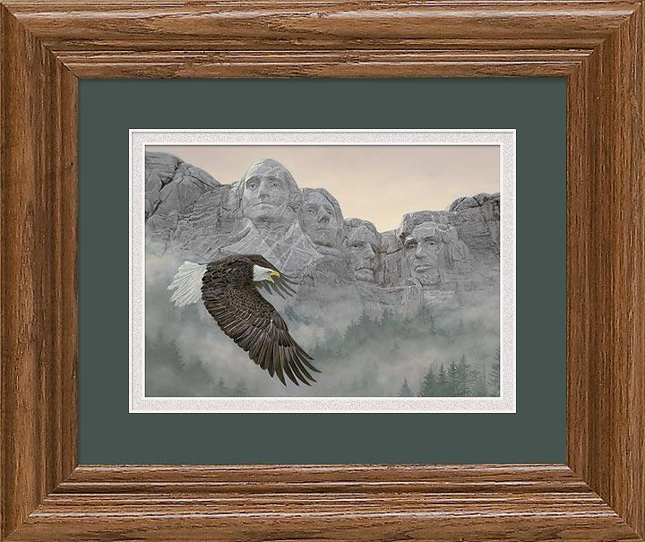 American Splendor—bald Eagle Gna Mini Framed Print