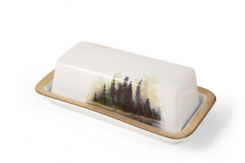 Misty Forest Butter Dish