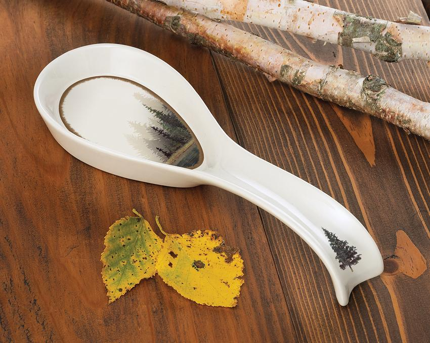 Misty Forest Spoon Rest