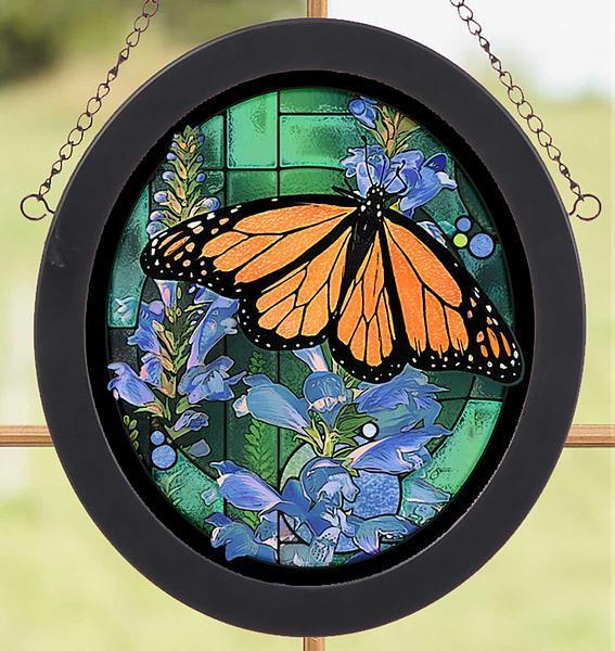 <I>Monarch Butterfly</i> Stained Glass Art
