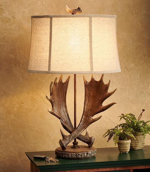 Call Of The Wild Table Lamp