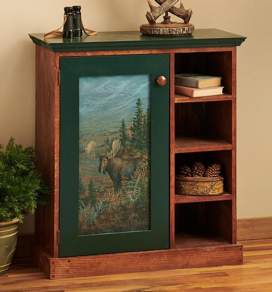 Moose Majesty Cabinet