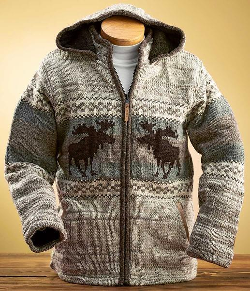 Moose Wool Sweater Jacket