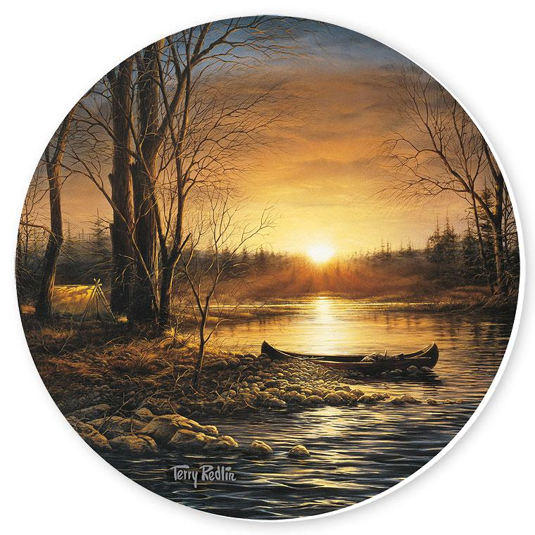 Morning Glow Coasters