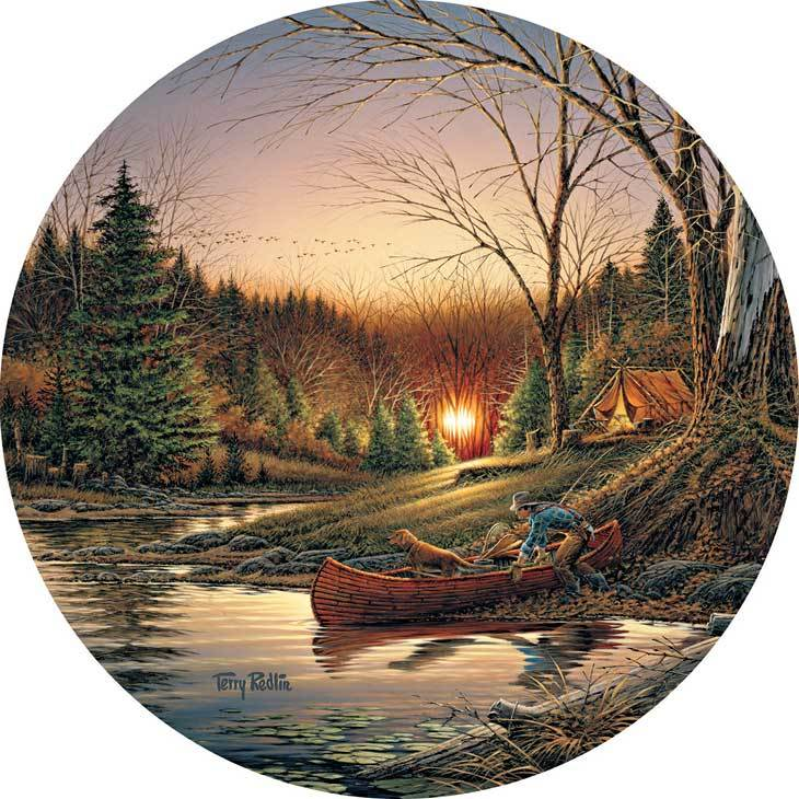 Morning Solitude—camping Coasters
