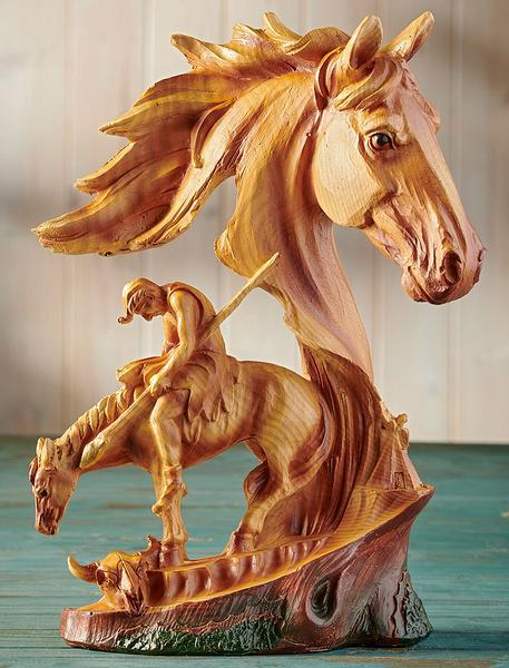 End Of Trail Horse Sculpture