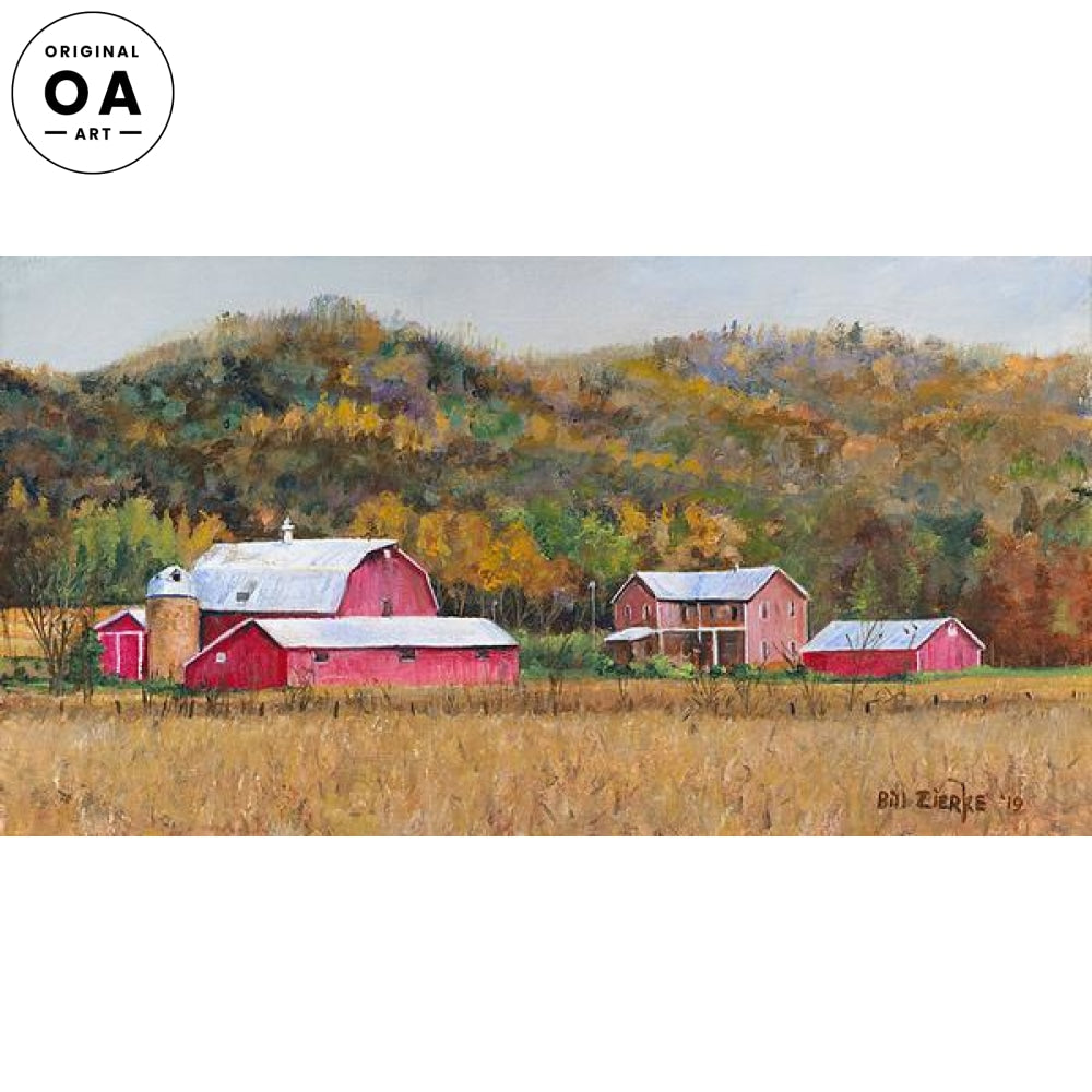 New Paint—Red Barns.