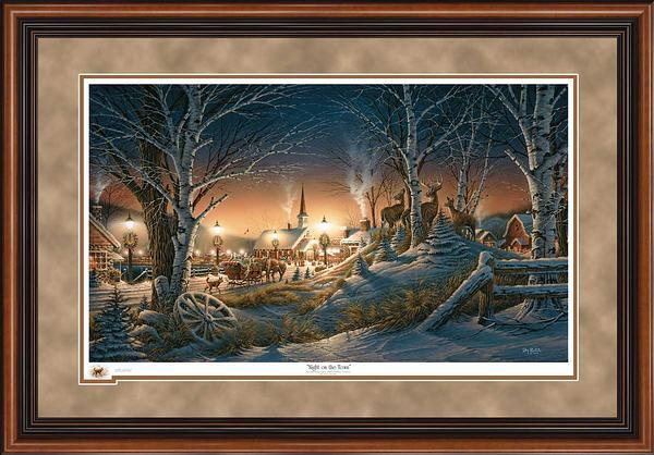 Night on the Town Art Collection