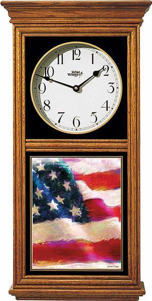 Flag Regulator Clock