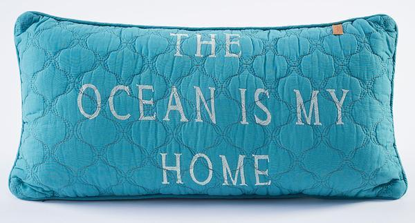 Ocean Life—turtle Pillow