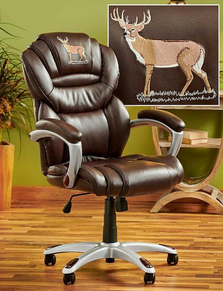 Whitetail Deer Office Chair