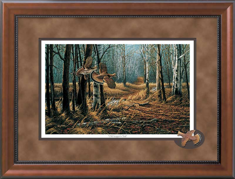 Old Logger's Trail-Ruffed Grouse Art Collection