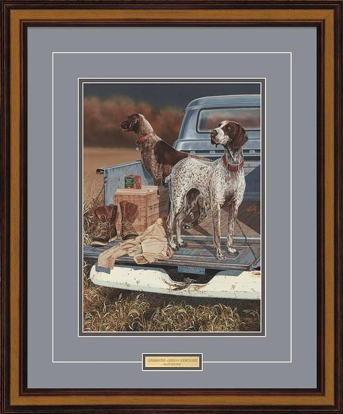 <i>Opening Day&mdash;German Shorthair Pointers</i>