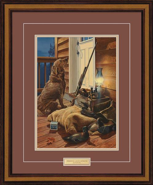 Opening Day-Golden Retriever Art Collection