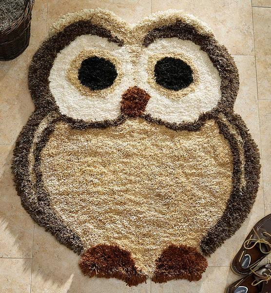 Keep And Eye Out—owl Area Rug