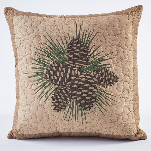 Pinecone Cluster Pillow