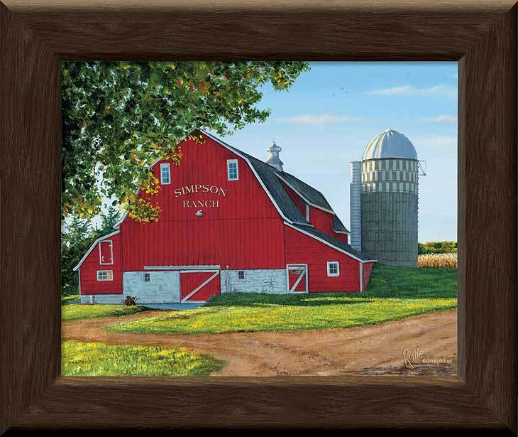 Prairie Red Barn