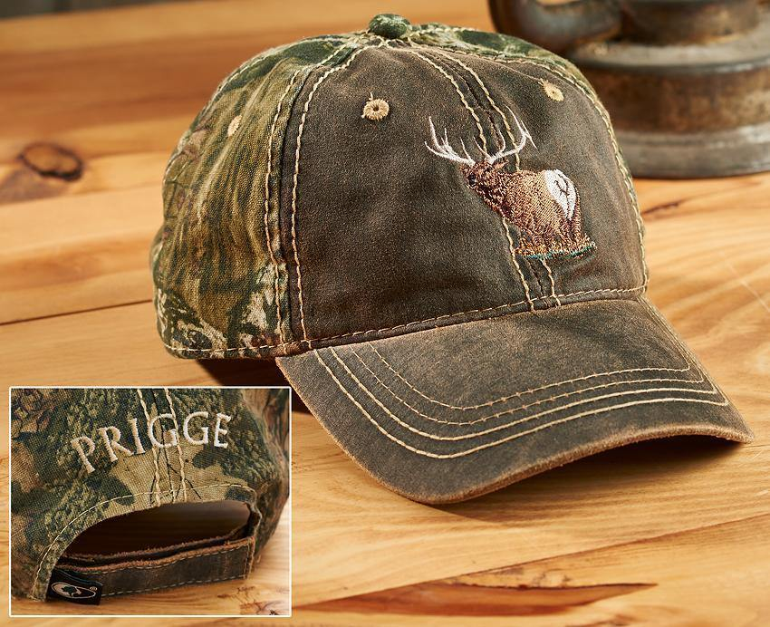 Camo Elk Personalized Cap