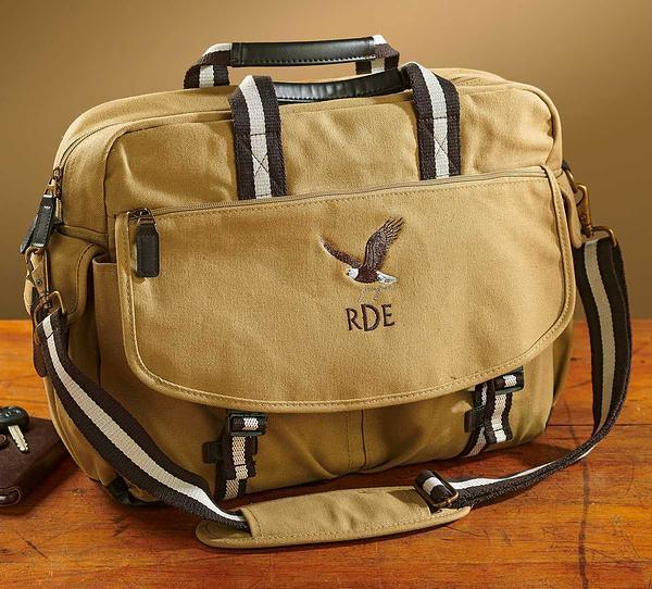 Bald Eagle Personalized Messenger Bag
