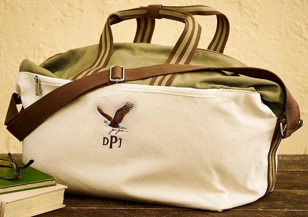 Bald Eagle Personalized Weekender Bag