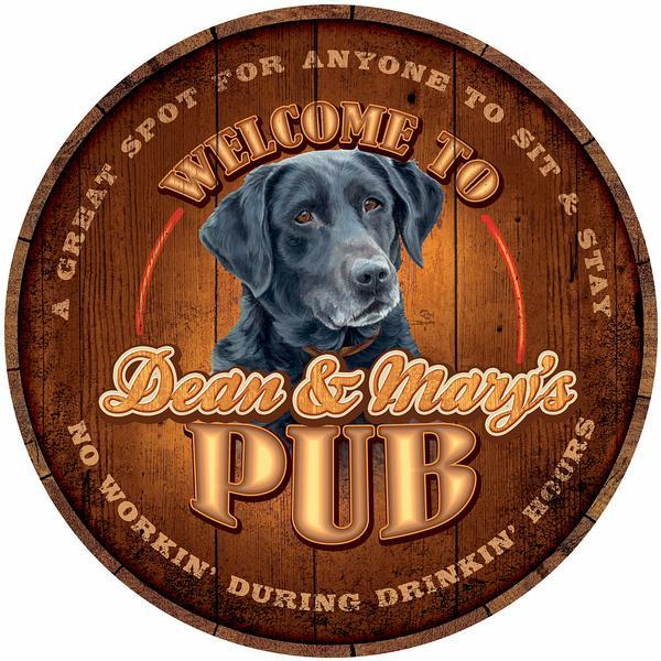 Thirsty Dog Pub—Black Lab.