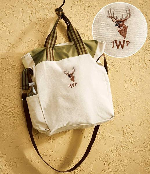 Whitetail Deer Personalized Tote
