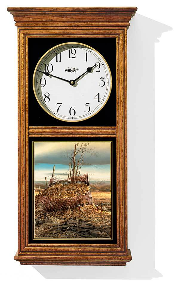 Sharing The Bounty—pheasants Regulator Clock