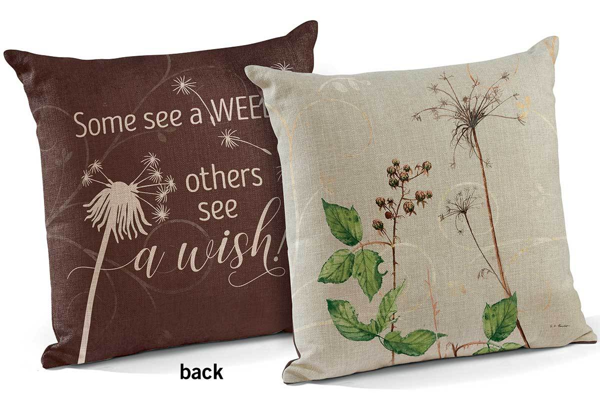 <I>See A Wish</i> 18 Decorative Pillow