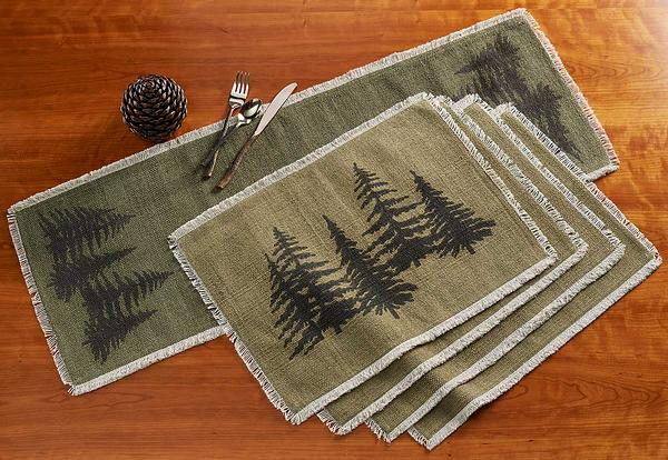 Pine Grove Table Runner & Placemats