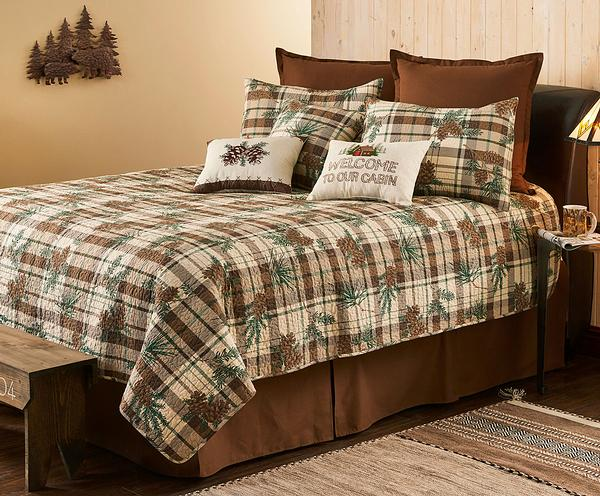 Pine Plaid Bedding Set