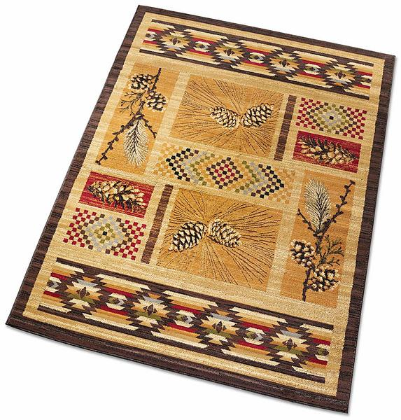 Pine Spice Area Rug Collection