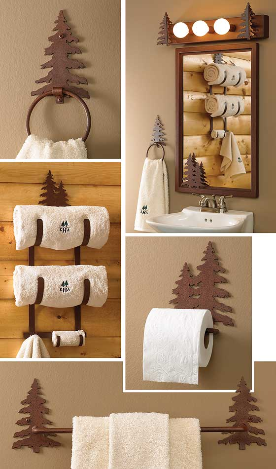 Pine Tree Bath Accessories