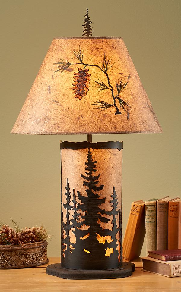 Pine Trees Nightlight.