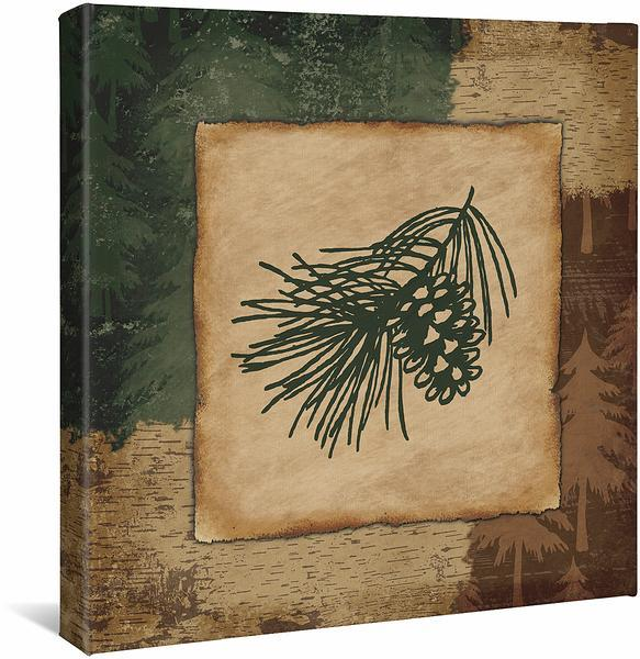 <I>Pinecone</i> Gallery Wrapped Canvas