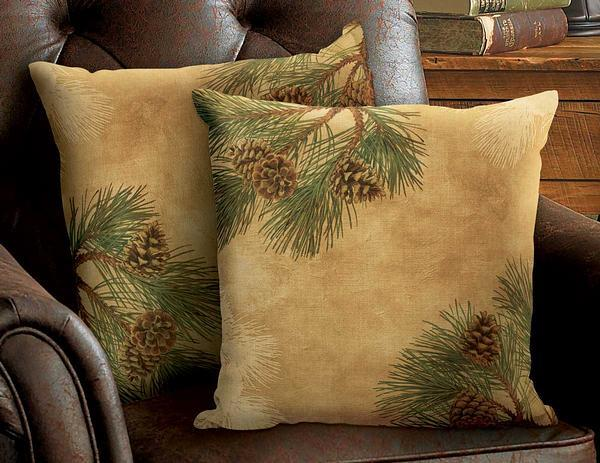 Pinecone Decorative Pillow Collection