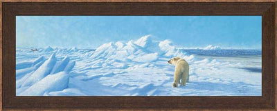 Polar Breeze-Polar Bear Art Collection