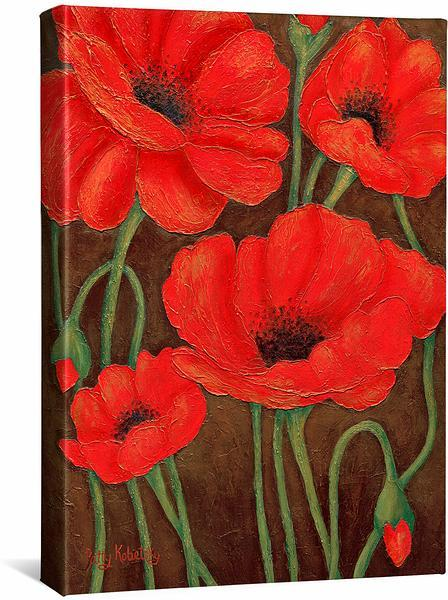 Poppies—Red.