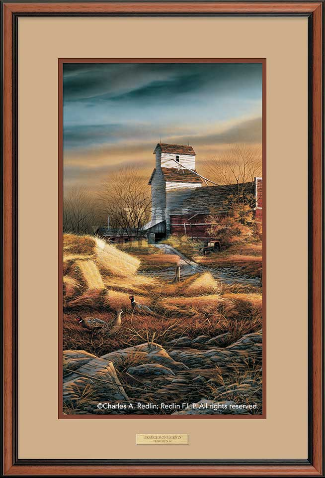 Prairie Monuments-Pheasants Art Collection