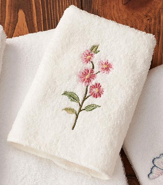 Country Prairie Bouquet Wash Cloth