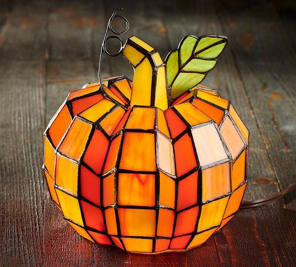Pumpkin Stained Glass