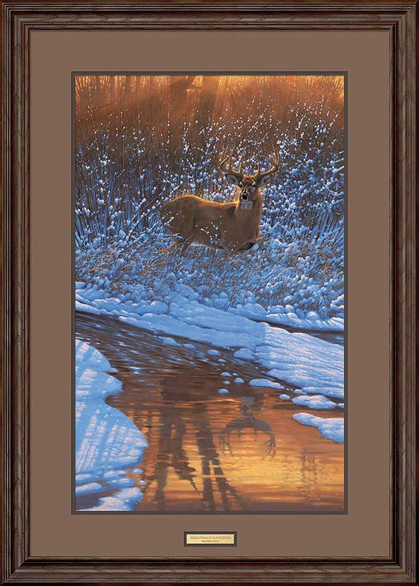 Reflections of Bow Hunting Art Collection