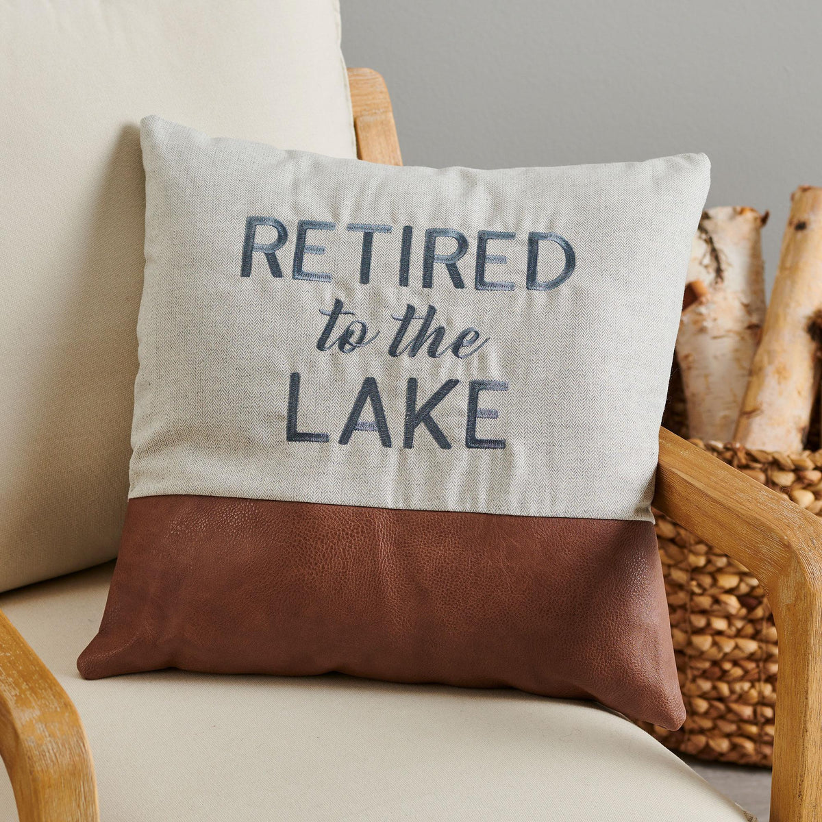 Retired to The Lake.