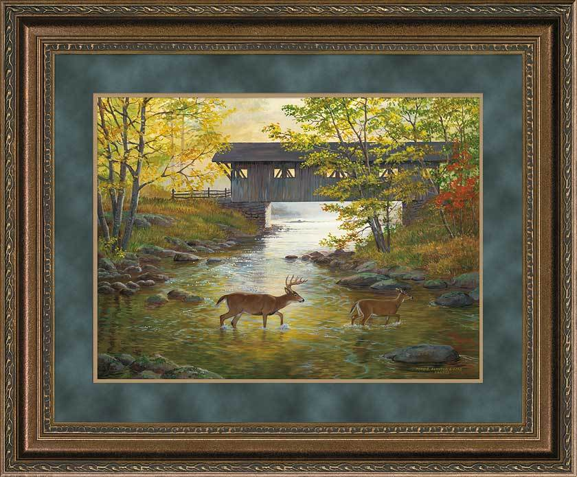 Covered Bridge Art