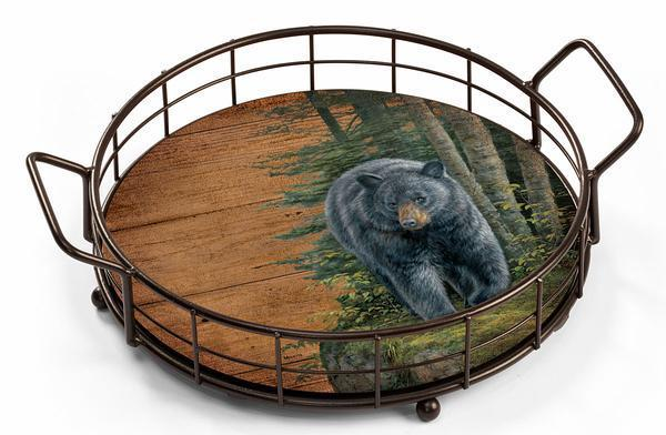 Black Bear Serving Tray