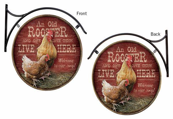 Rooster & Chick Live Here